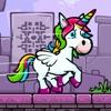 Unicorn Run 2D: Help Princess