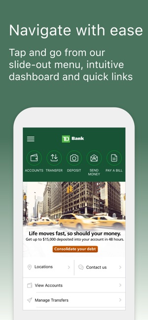Td bank us on the app store colourmoves Images
