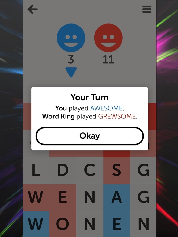 Letterpress – Word Game для iPad