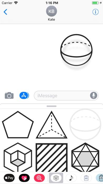 Geometric Stickers screenshot two