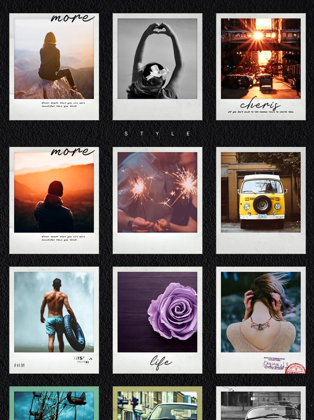 Phot - instant film quick cam Screenshot