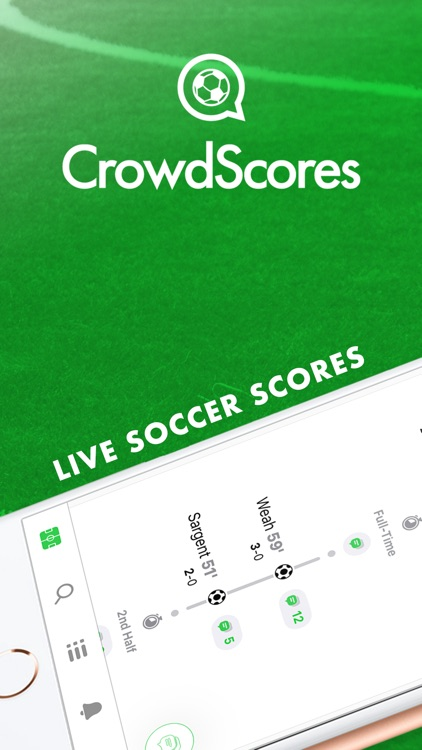 CrowdScores - Live Scores screenshot-0