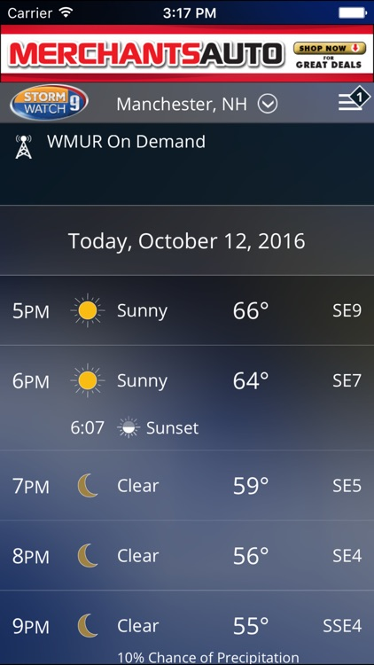 WMUR Weather screenshot-4