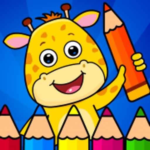 Coloring Games: For Kids 2-6! By IDZ Digital Private Limited