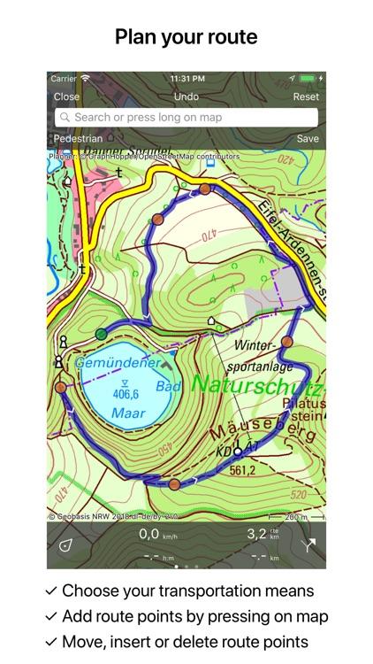 Topo GPS Germany screenshot-3