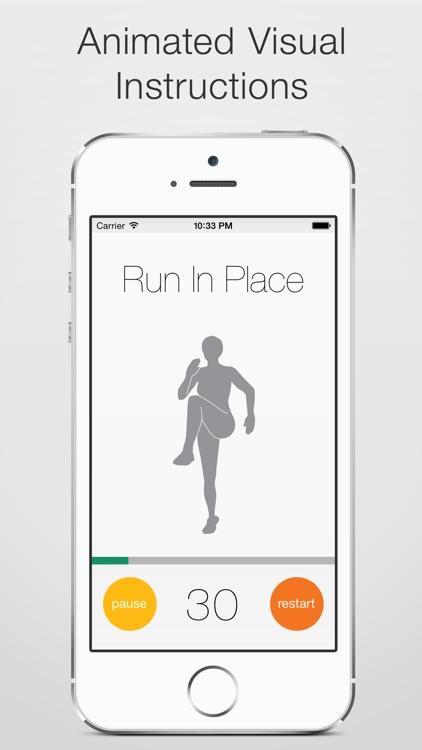 5 Minute Workout Challenge screenshot-3