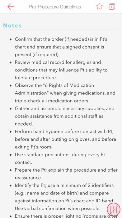 RNotes: Nurse's Pocket Guide screenshot two