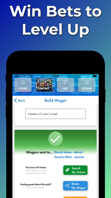 Wager Lab - Bet on Sports Now screenshot-8