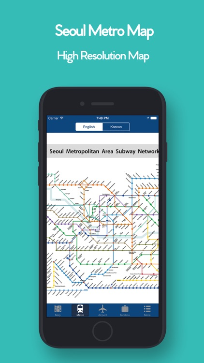 Seoul Offline Map, Metro screenshot-2