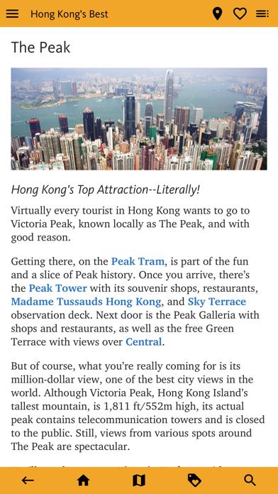 Hong Kong's Best Travel Guide screenshot 2