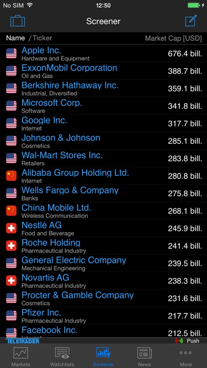 StockMarkets for iPhone screenshot-4