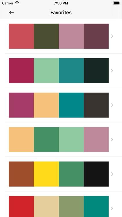Sanzo Color Palettes screenshot-9