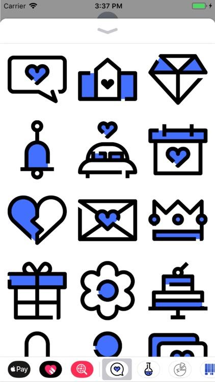 Love Stickers Pro screenshot-3