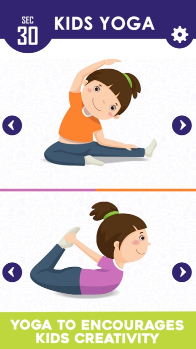 Yoga For Kids Daily Fitness screenshot four