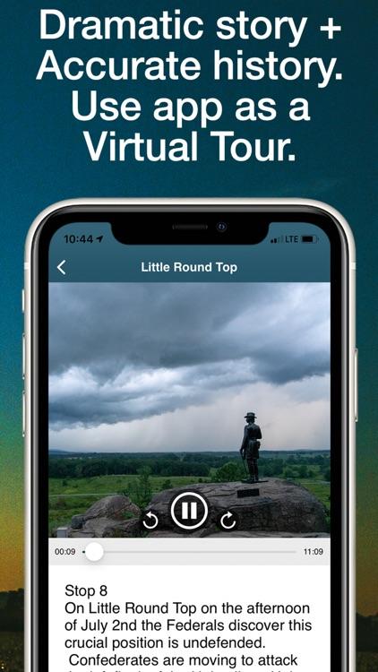 HereStory Gettysburg Auto Tour screenshot-3