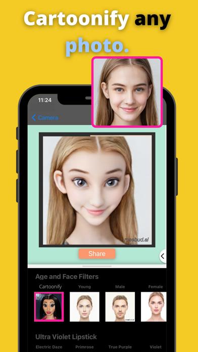 Faceloop cartoon me: AI faceのおすすめ画像2