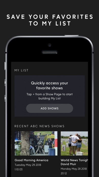 ABC – Live TV & Full Episodes screenshot 4