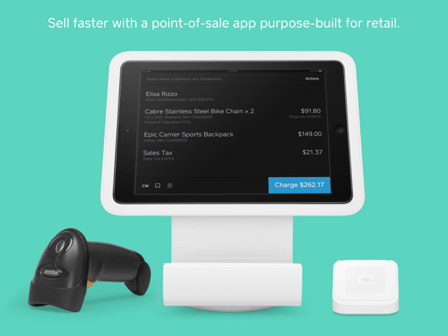 Square Retail Point Of Sale On The App Store