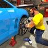 Flat Tire Repair Mechanic Shop
