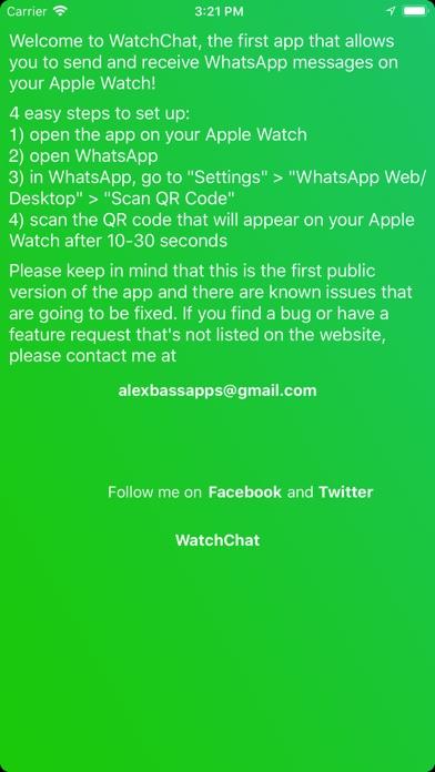 WatchChat for WhatsApp Screenshot 2