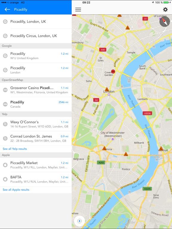 Screenshot #4 for GPS Navigation (Sat Nav)