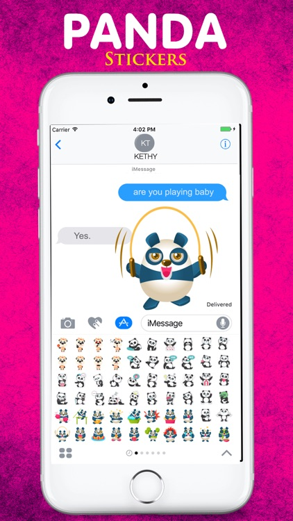 The Cute Panda Emojis screenshot-4