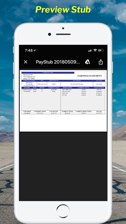 Paystub Calculator Maker Pro screenshot-3