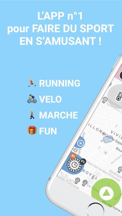 urbanr course cyclisme fun run screenshot-0