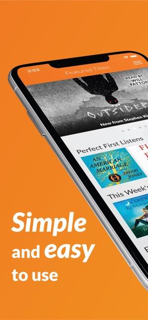 Audiobooks audio books on the app store screenshots fandeluxe Images