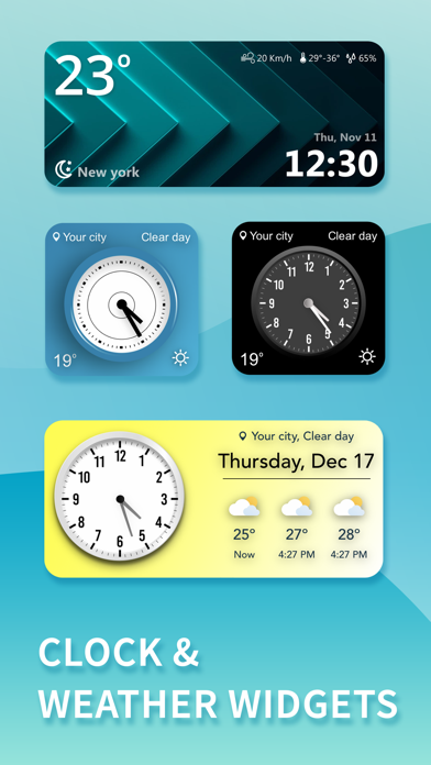Weather Widget & Radar Fuji Screenshot