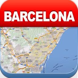 Barcelona Offline Map,Metro