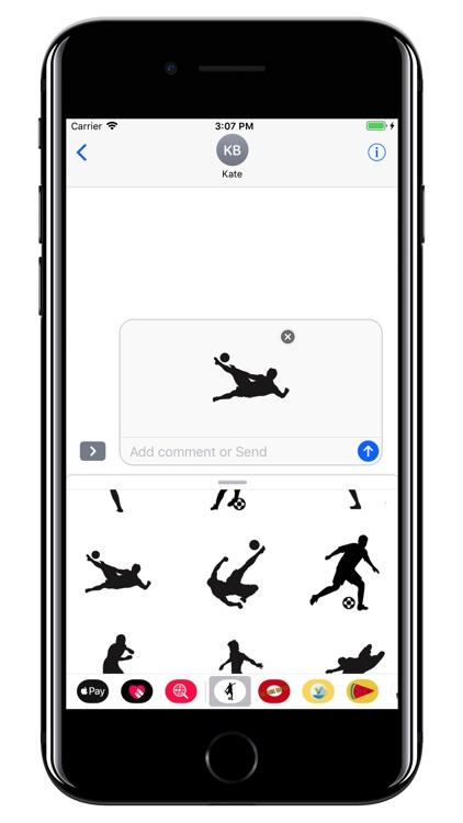 Soccer stickers - Football WC screenshot-3