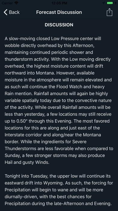 Deep Weather review screenshots