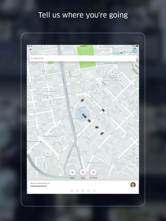 Uber iPad