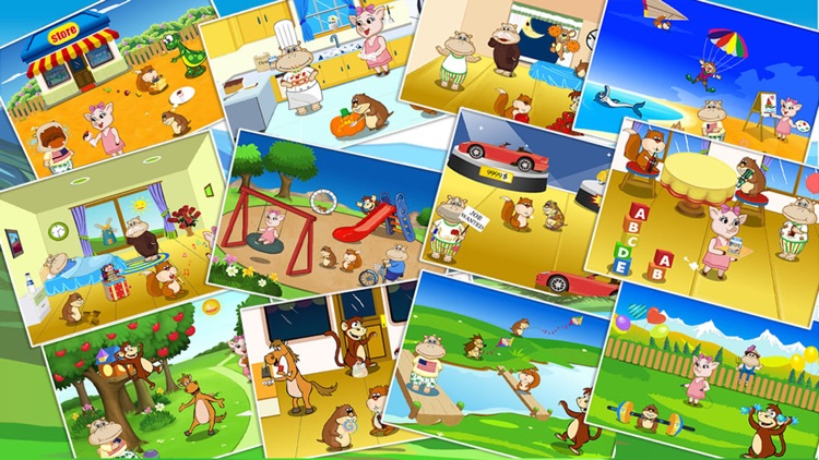 Shape Puzzle - Toddler games