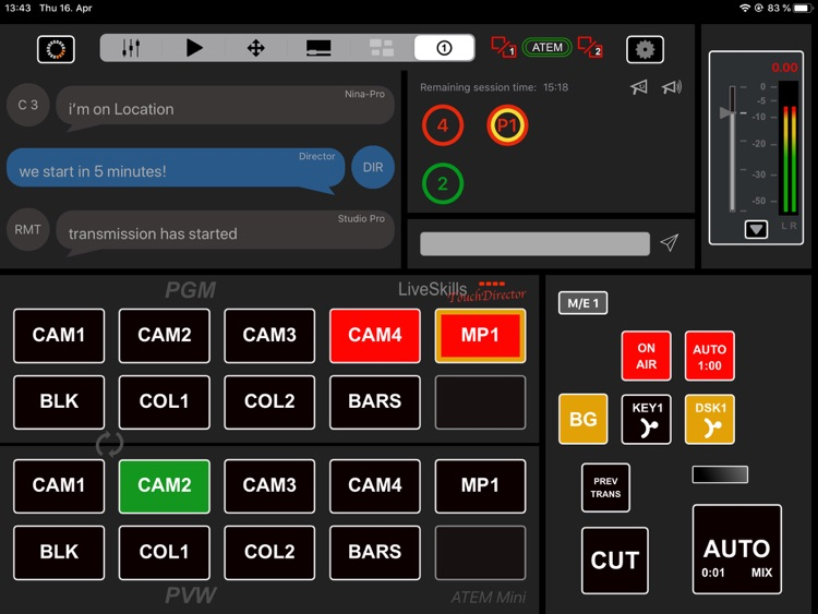TouchDirector Mini screenshot-5