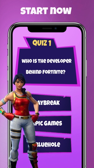 #1 Fortnite Weekly Quick Quiz for Windows