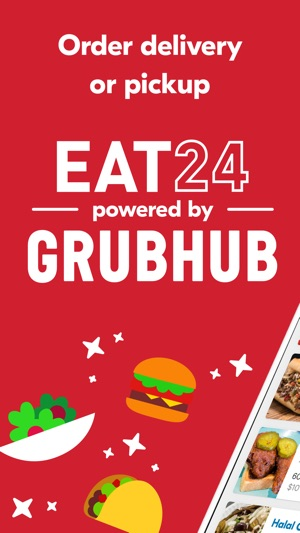 eat24 food delivery on the app store