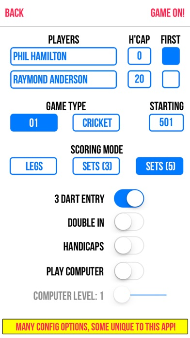 Russ Bray Darts Scorer screenshot1