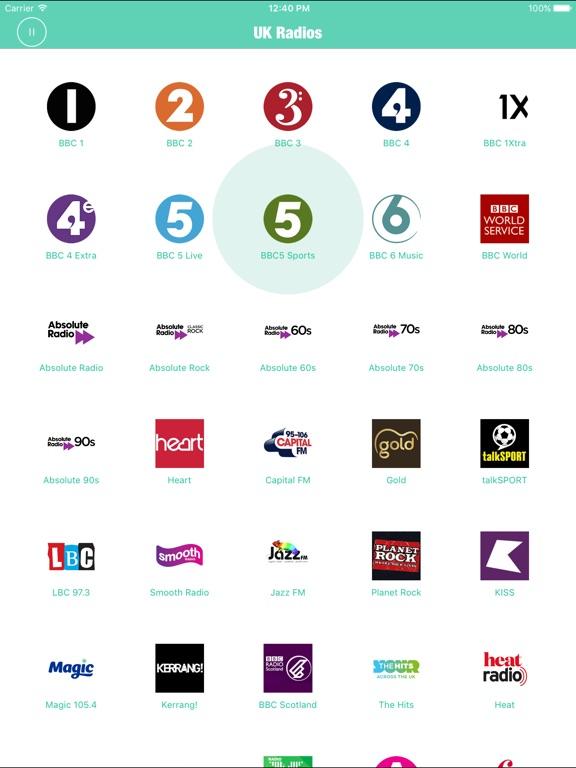 Radios UK Pro British Radio FM Screenshots