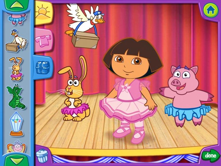 Dora's Dress-Up Adventures! HD screenshot-3