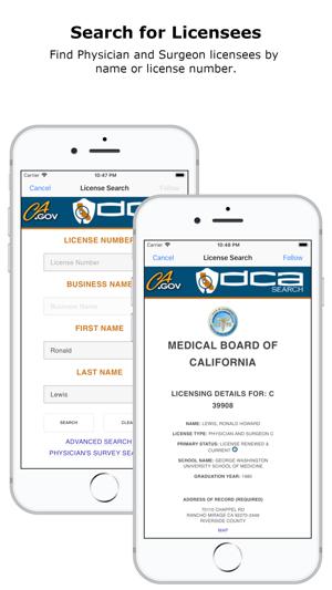 medical board of california on the app store