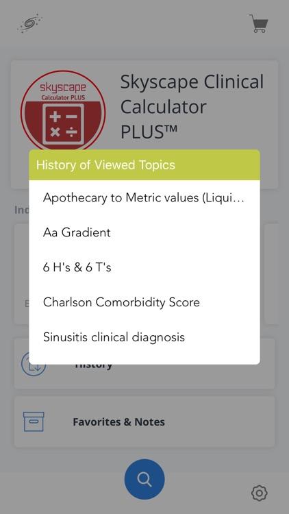 Clinical Calculator PLUS screenshot-5