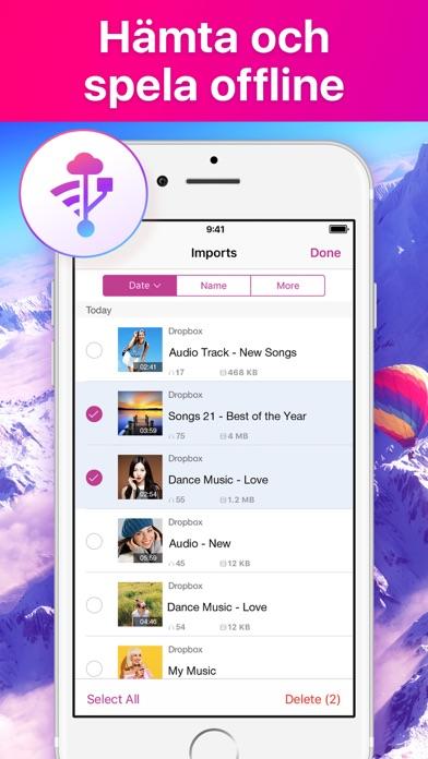 Screenshot for Musik Player Offline in Sweden App Store