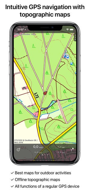 Topo GPS Germany on the App Store