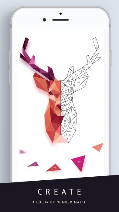 Poly Artbook - puzzle game screenshot 3