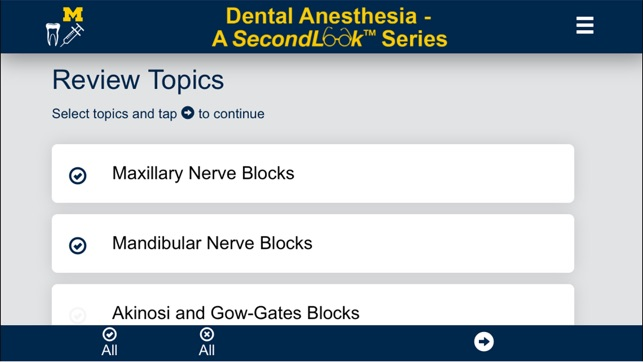 Dental Anesthesia-SecondLook on the App Store
