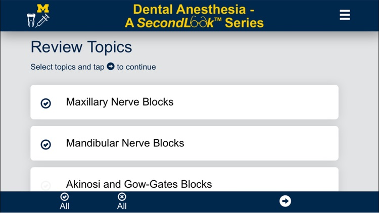 Dental Anesthesia-SecondLook