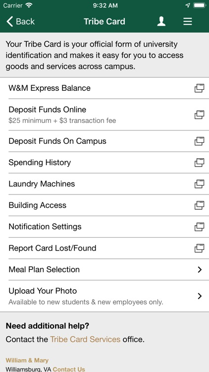 William & Mary Mobile screenshot-4