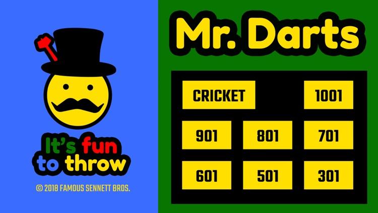 Mr. Darts - Cricket/01 Scorer